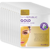 10 Pack Gold Hydrogel Biodegradable Face Mask