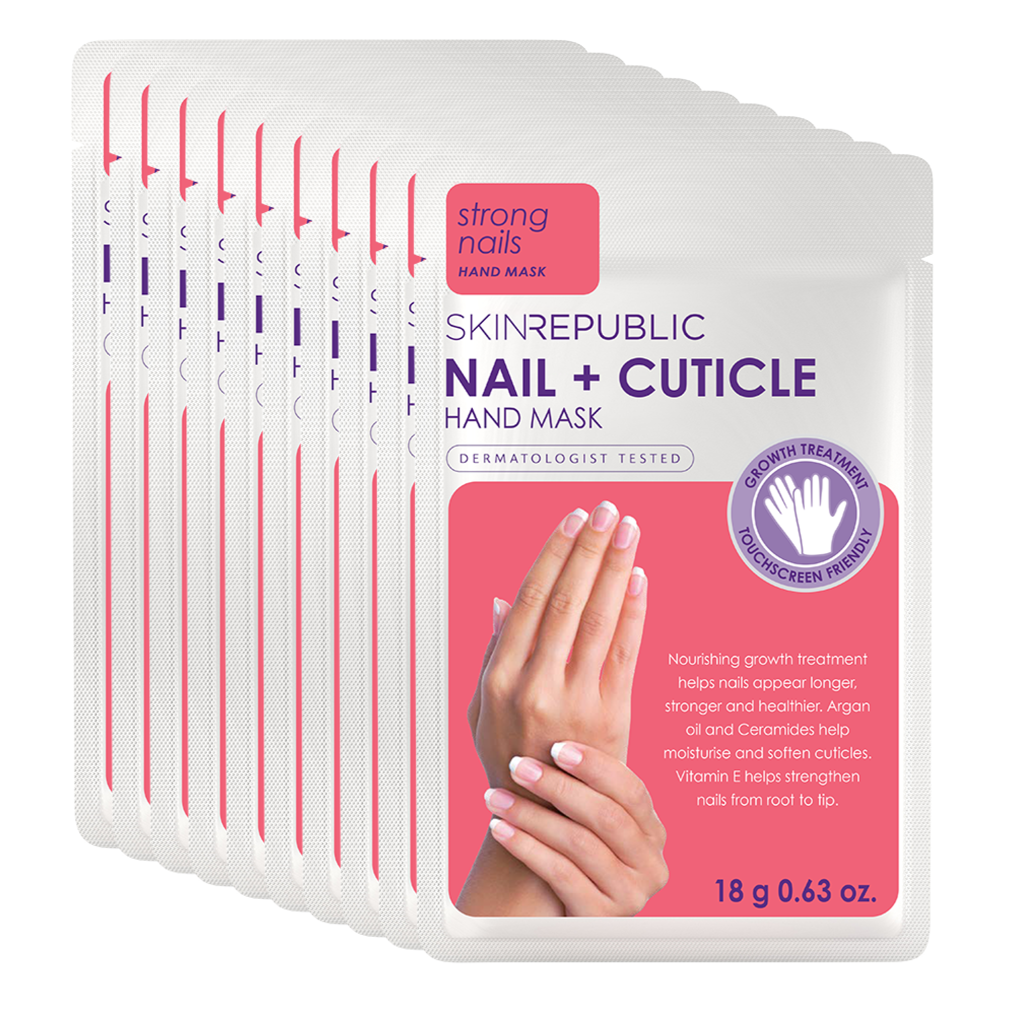 10 Pack Nail + Cuticle Hand Mask