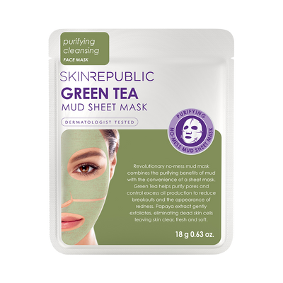 Green Tea Mud Sheet Mask