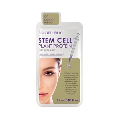 Stem Cell Plant Protein Face Mask Sheet