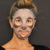 Purifying Charcoal + Green Tea Panda Face Mask Sheet