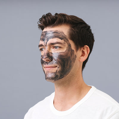 Facial Scrub + Charcoal for Men