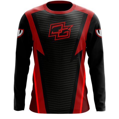 Demented Red Long Sleeve Jersey