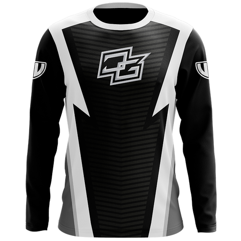 Demented White Long Sleeve Jersey