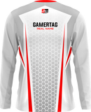 SELFMADE White Long Sleeve Jersey