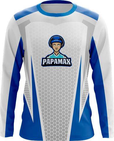 PapaMax White Long Sleeve Jersey