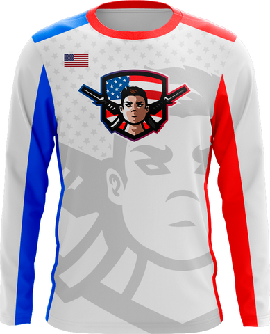 PapaMax USA Long Sleeve Jersey