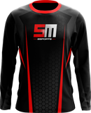 SELFMADE Black Long Sleeve Jersey