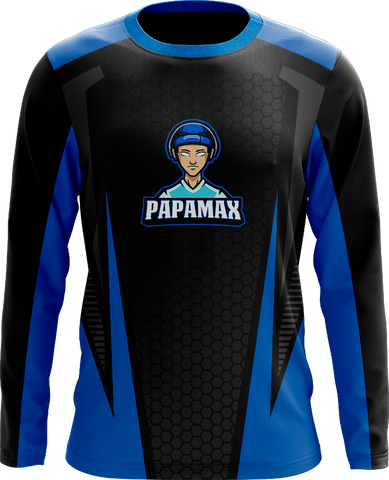 PapaMax Black Long Sleeve Jersey