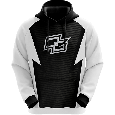 Demented White Pro Hoodie