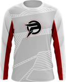 Path White Long Sleeve Jersey