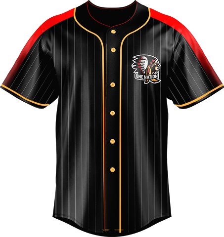 One Nation Baseball Jersey