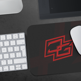 Demented Red Mousepad