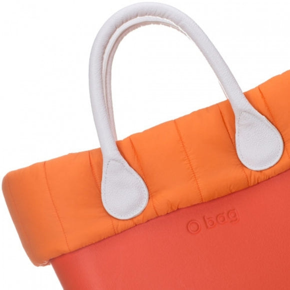 טופ מרופד לתיק O bag mini צבע כתום- QUILTED TRIM ORANGE