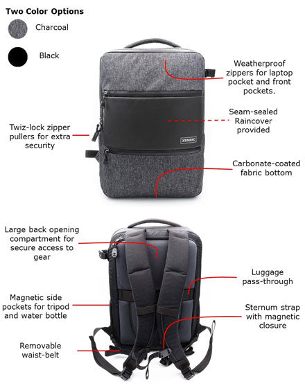 Xennec CityScape Backpack (bag details)
