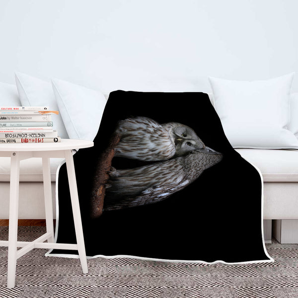 Owl Blanket-Silent Beauty