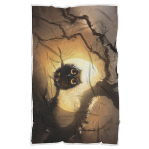Owl Blanket-Full Moon
