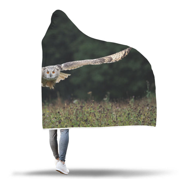 Hooded Owl Blanket-Brave