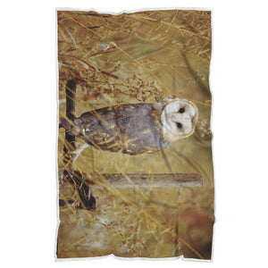 Owl Blanket-Sweet Barn Owl