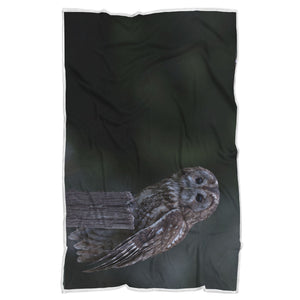 Owl Blanket-Quiet