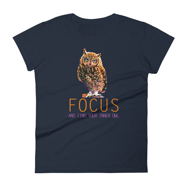 Owl Shirts for Women- Focus
