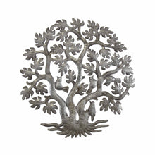 Load image into Gallery viewer, 14 inch 3 Trunk Tree of Life Wall Art - Croix des Bouquets