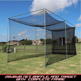Cal Golf Star Cimarron Masters Golf Net with Complete Frame  - Golf Net