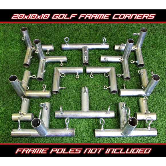 Cal Golf Star Cimarron Golf Frame Corner Kit 20x10x10 -