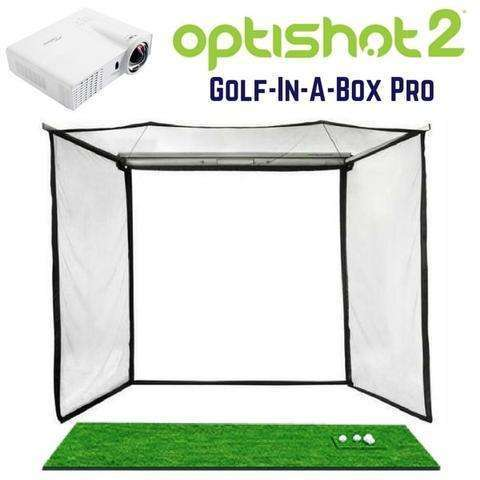 Cal Golf Star OptiShot Golf-In-A-Box PRO Golf Simulator Package Default Title - Simulator
