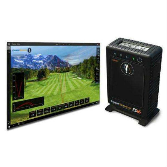 Cal Golf Star Ernest Sports ES16 Tour Launch Monitor & Golf Simulator  - Simulator
