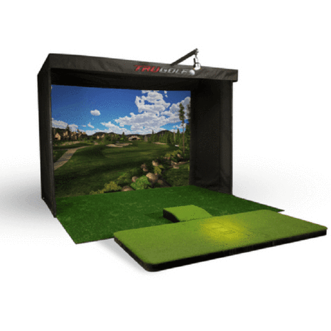 Cal Golf Star Trugolf Vista 12 Series Golf Simulator  - Golf Simulator