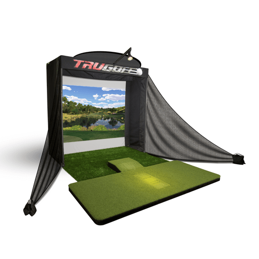 Cal Golf Star TruGolf Vista 8 Golf Simulator  - Simulator