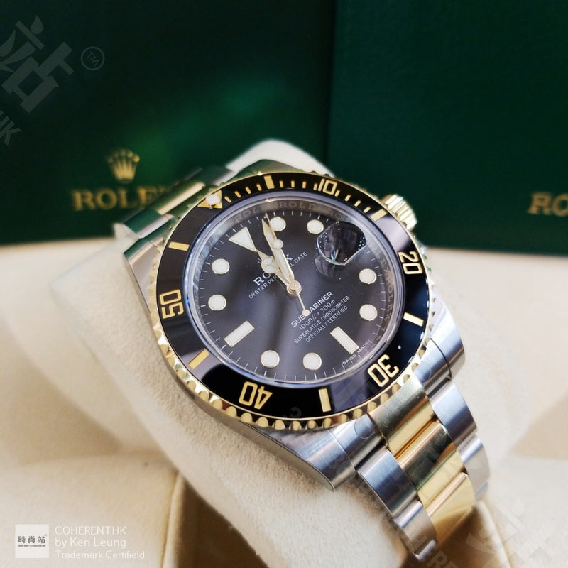 Buy NEW ROLEX M116613LN-0001 SUBMARINER DATE (116613LN) easily and safely on Coherenthk. Hong Kong leading Watch Shop. Located in Tsim Sha Tsui.