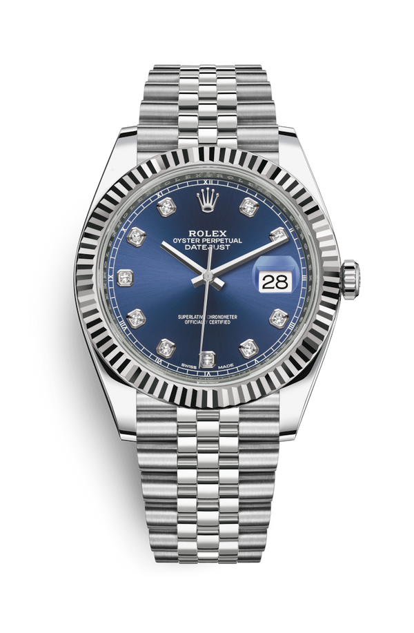 Buy NEW ROLEX  M126334-0016 DATEJUST 41 (126334) easily and safely on Coherenthk. Hong Kong leading Watch Shop. Located in Tsim Sha Tsui.