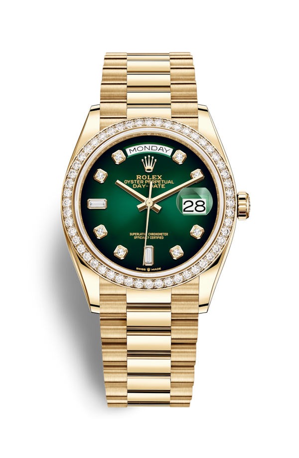 Buy NEW ROLEX M128348RBR-0035 DAY-DATE 36 (128348RBR) easily and safely on Coherenthk. Hong Kong leading Watch Shop. Located in Tsim Sha Tsui.