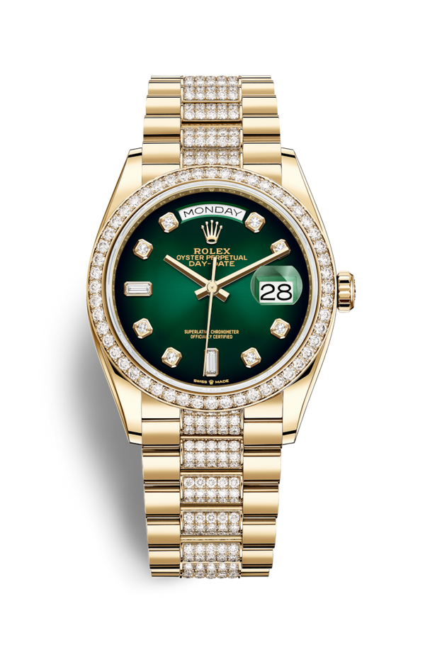 Buy NEW ROLEX M128348RBR-0036 DAY-DATE 36 (128348RBR) easily and safely on Coherenthk. Hong Kong leading Watch Shop. Located in Tsim Sha Tsui.