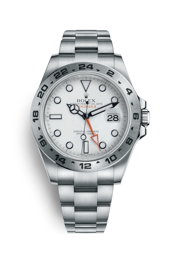 Buy NEW ROLEX M216570-0001 EXPLORER II (216570) easily and safely on Coherenthk. Hong Kong leading Watch Shop. Located in Tsim Sha Tsui.
