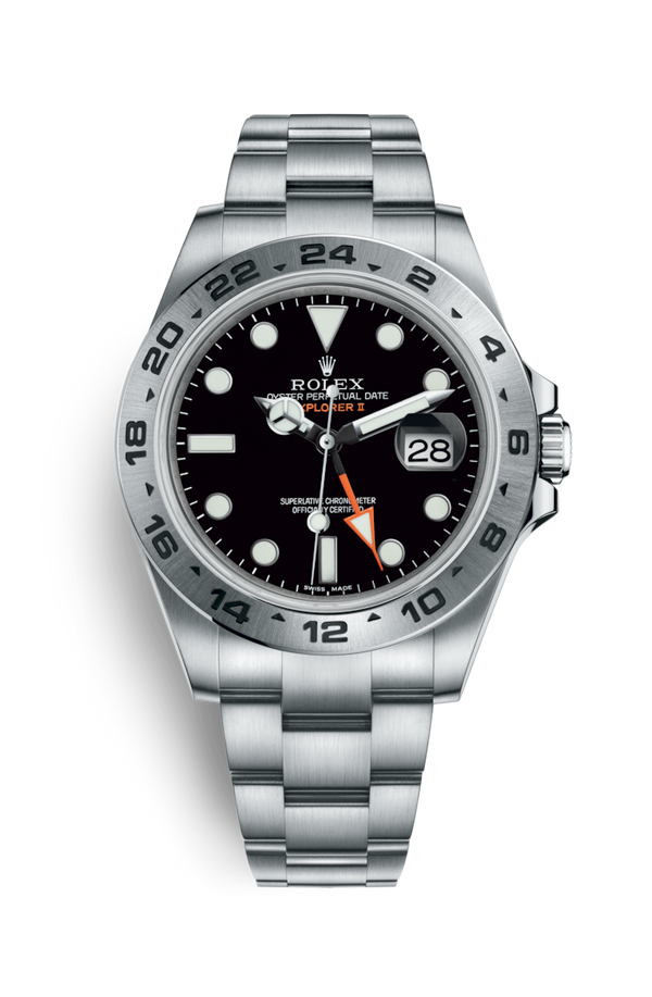 Buy NEW ROLEX M216570-0002 EXPLORER II (216570) easily and safely on Coherenthk. Hong Kong leading Watch Shop. Located in Tsim Sha Tsui.