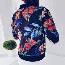 ModnLife - Casual Printed Bomber Jacket - Stylish Athleisure Activewear