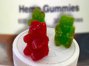 Hemp Gummies [600mg Hemp / 30 Gummies]