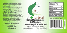 Load image into Gallery viewer, Hemp Label for DrHerb-al lip balm shop Denver natural medicine