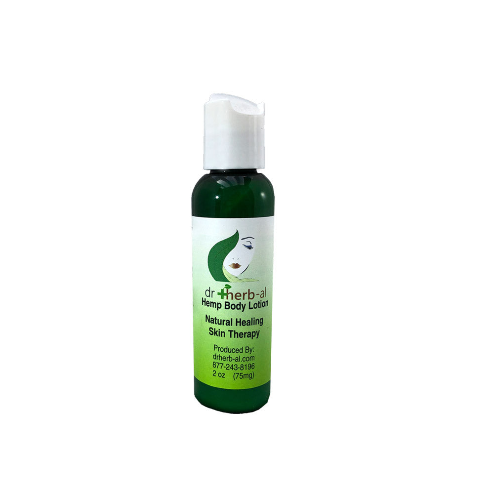 hemp lotion drherbal drherb-al mini size 2oz healing health