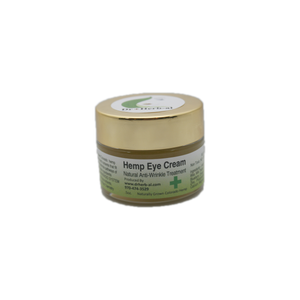 Hemp CBD eye creme lotion wrinkle treatment fancy natural organic cruelty free