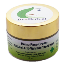 Load image into Gallery viewer, Hemp CBD face creme lotion wrinkle treatment luxury natural organic cruelty free Wild West weed and seed front image