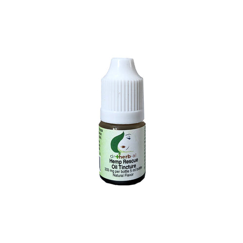 Hemp Rescue Oil Tincture [High Potency] [Sample 333mg Hemp (5ml)]