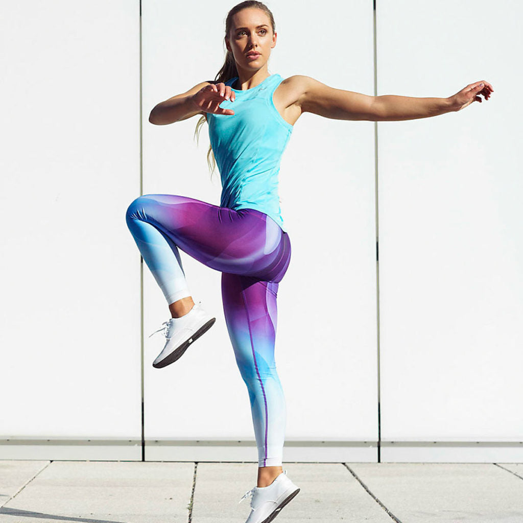 Color Wave Tights
