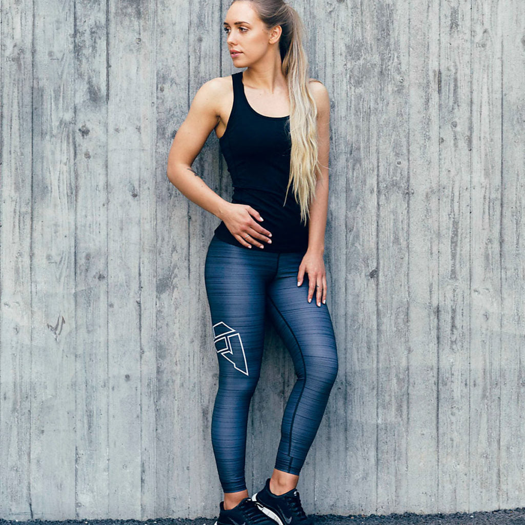 Grey Flow Tights