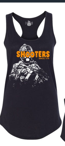 Shooters Ladies Racerback Tank
