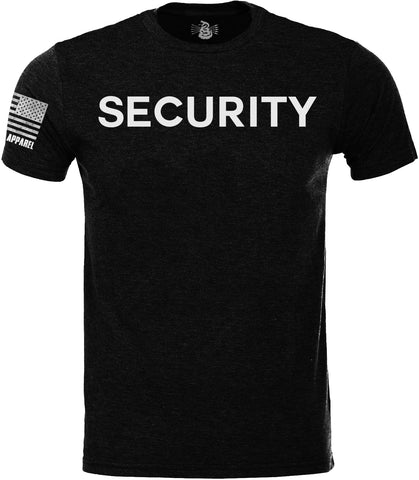 SECURITY SoftStyle T-Shirt W/ Flag