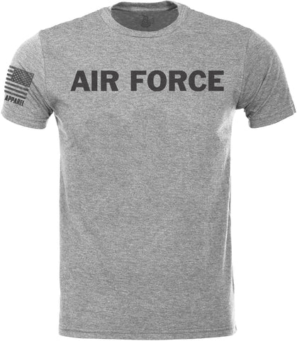 Air Force SoftStyle T-Shirt W/ Flag